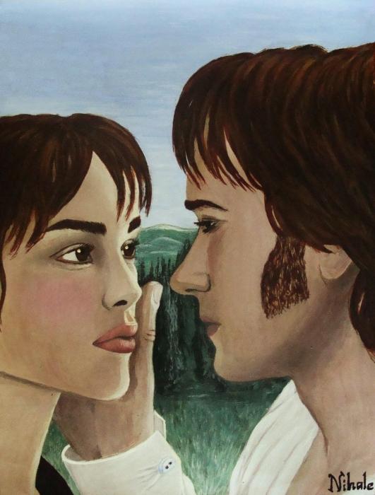 Matthew Macfadyen, Keira Knightley by Nihale